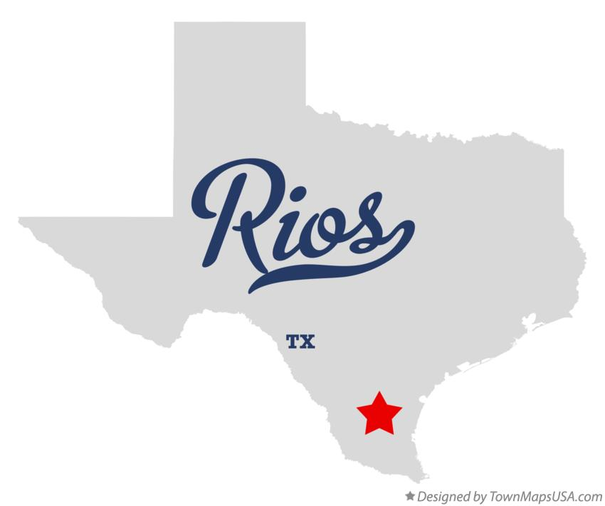 Map of Rios Texas TX