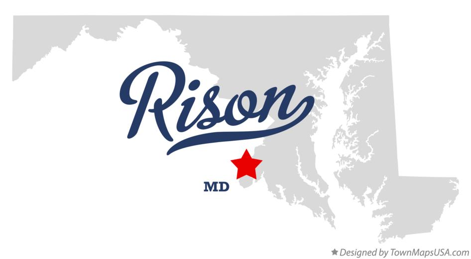 Map of Rison Maryland MD
