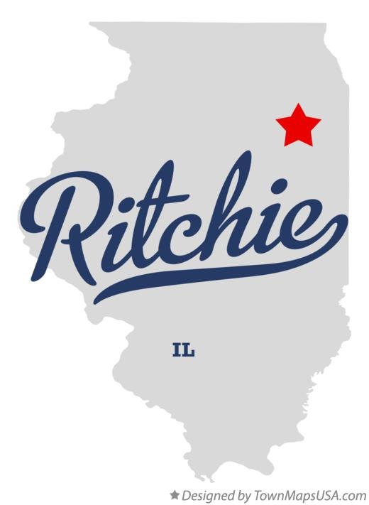 Map of Ritchie Illinois IL