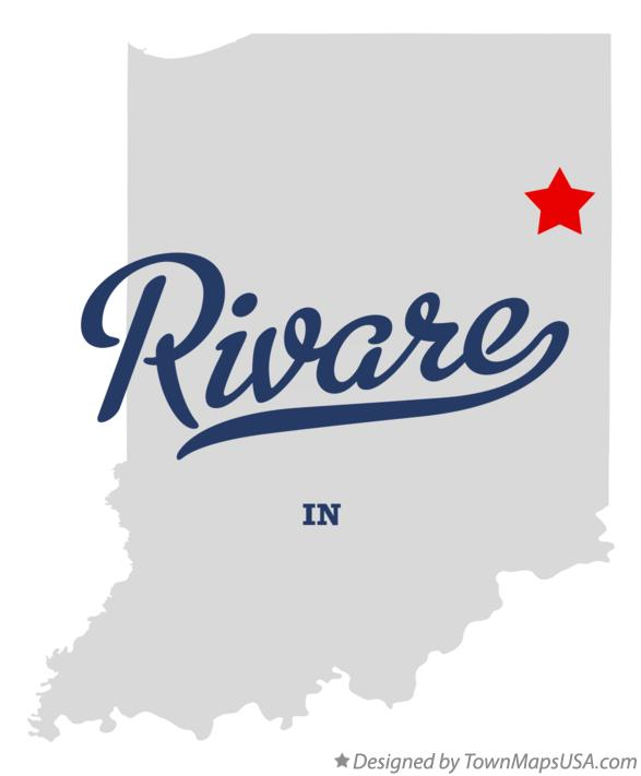 Map of Rivare Indiana IN