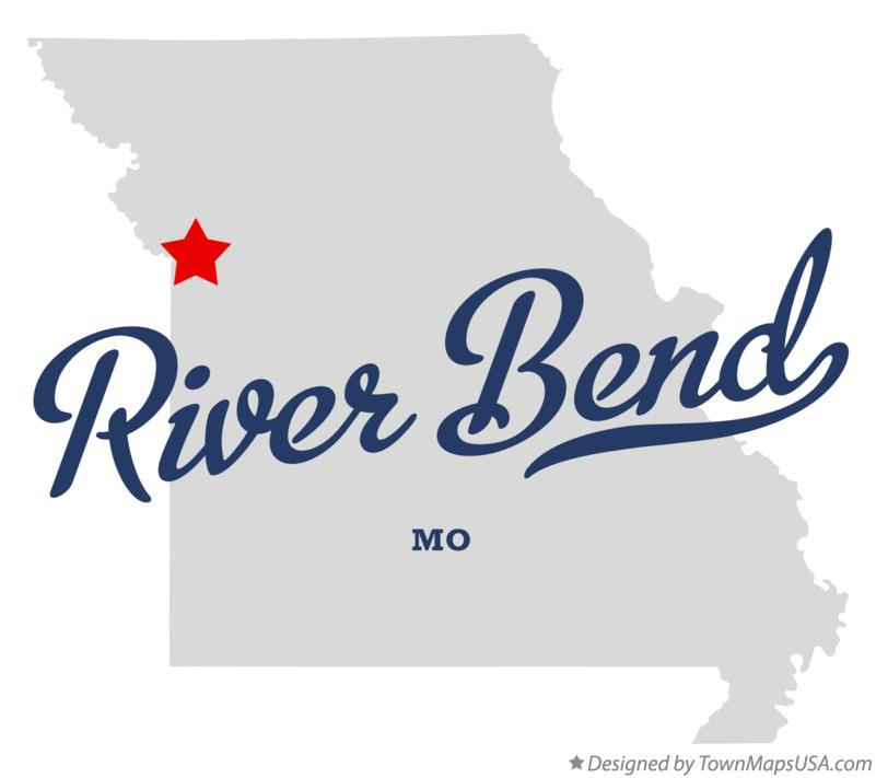 Map of River Bend Missouri MO