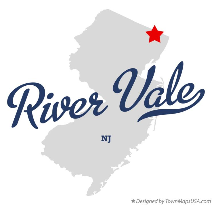 Map of River Vale New Jersey NJ