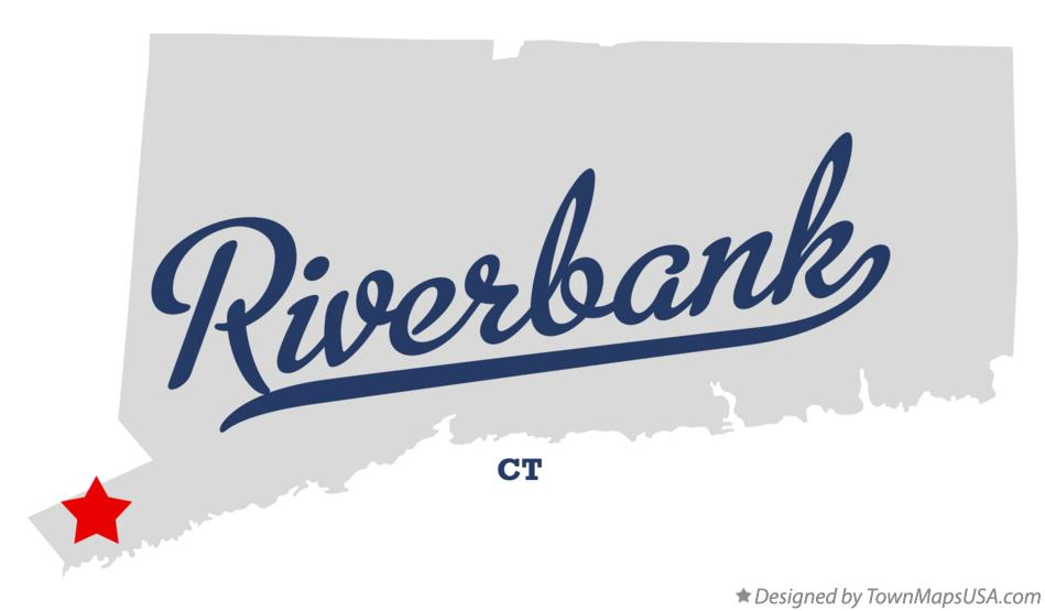 Map of Riverbank Connecticut CT