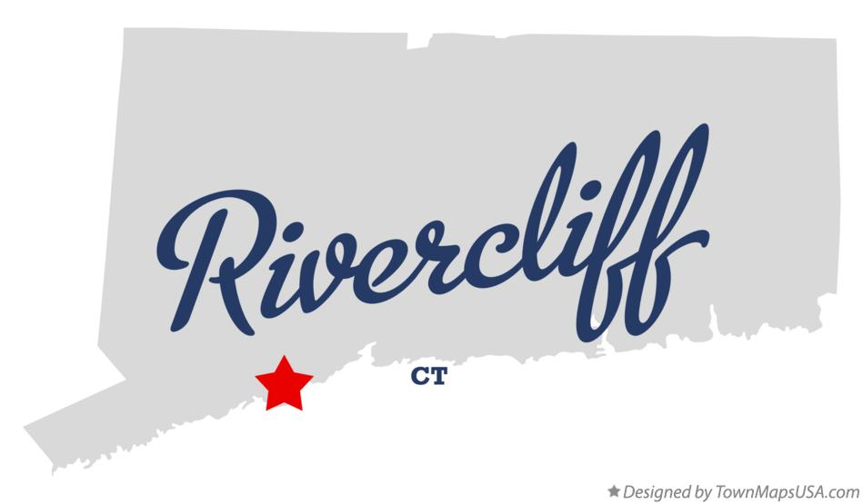 Map of Rivercliff Connecticut CT