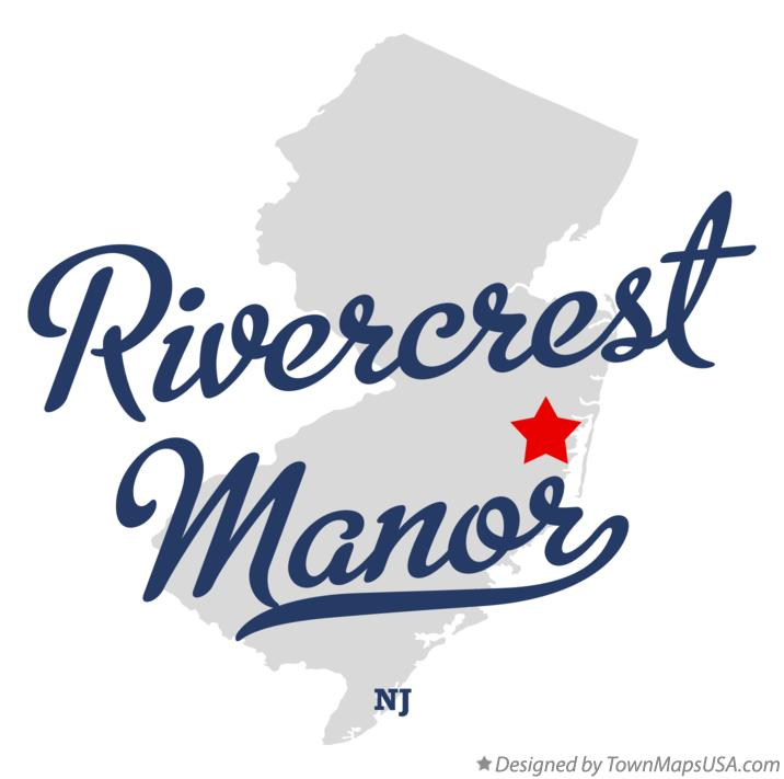 Map of Rivercrest Manor New Jersey NJ