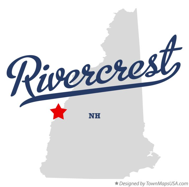 Map of Rivercrest New Hampshire NH