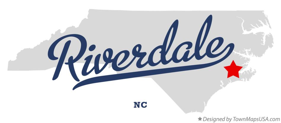 Map of Riverdale North Carolina NC