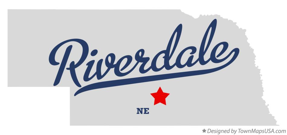 Map of Riverdale Nebraska NE