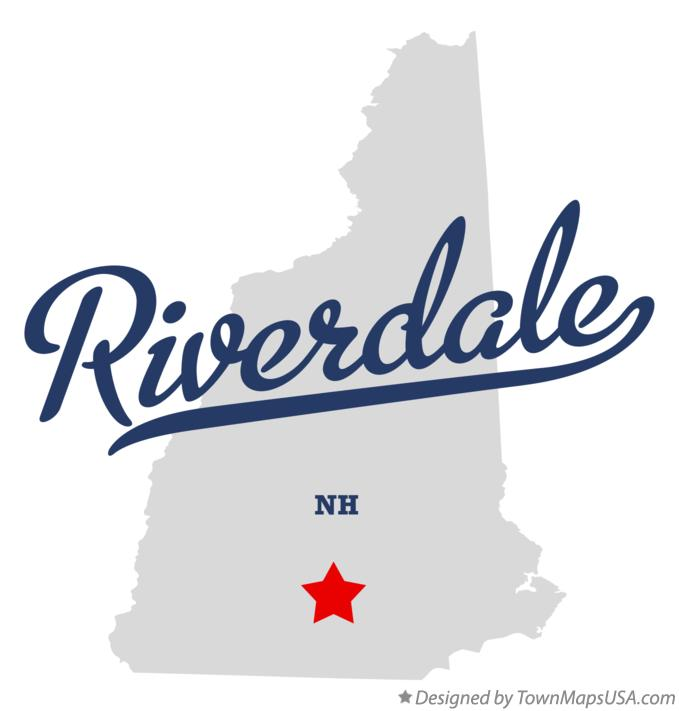 Map of Riverdale New Hampshire NH