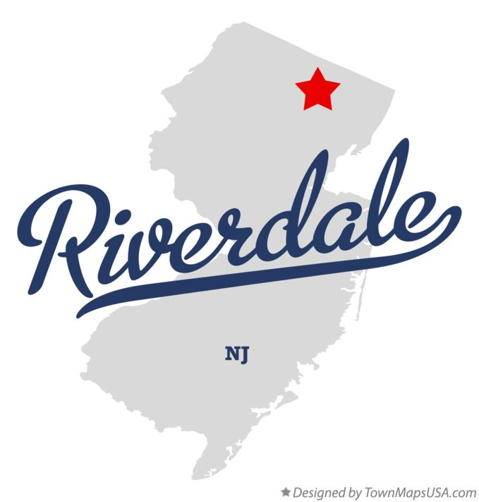 Map of Riverdale New Jersey NJ