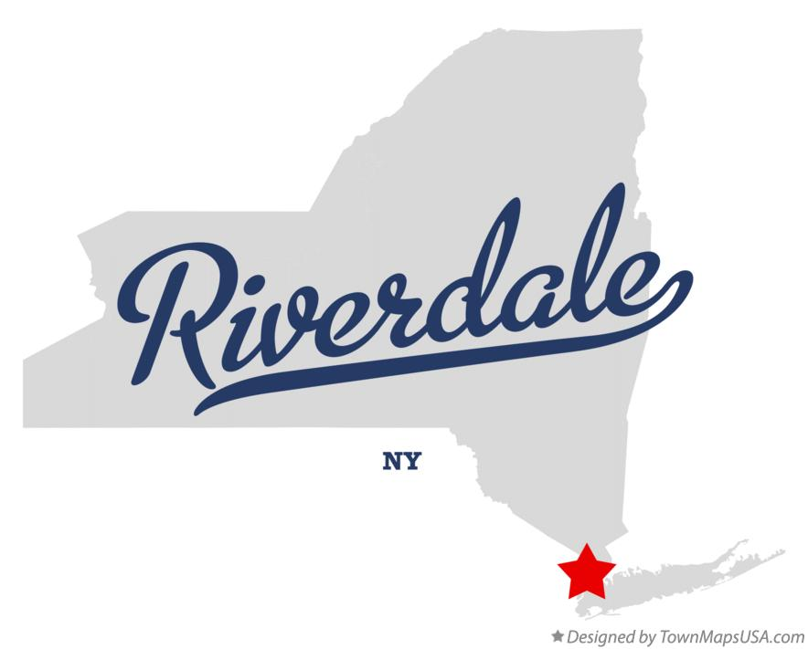 Map of Riverdale New York NY