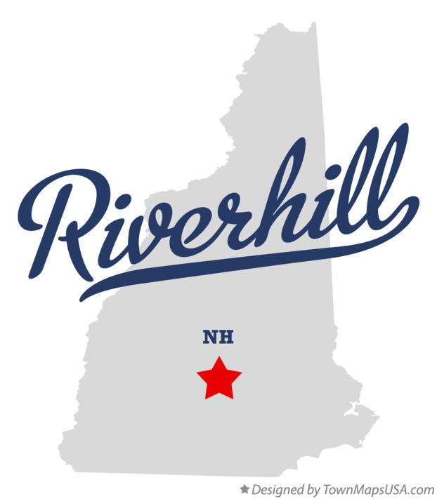 Map of Riverhill New Hampshire NH