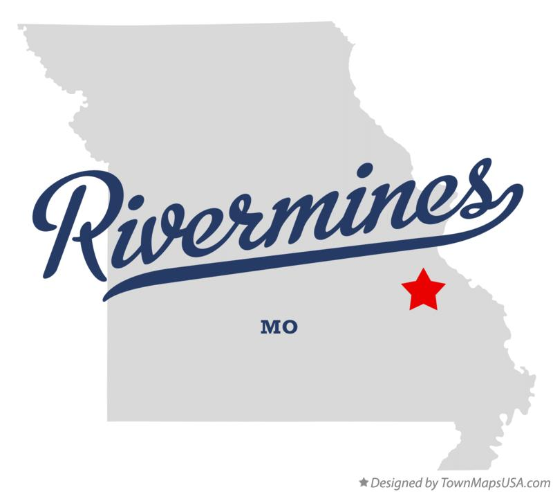 Map of Rivermines Missouri MO