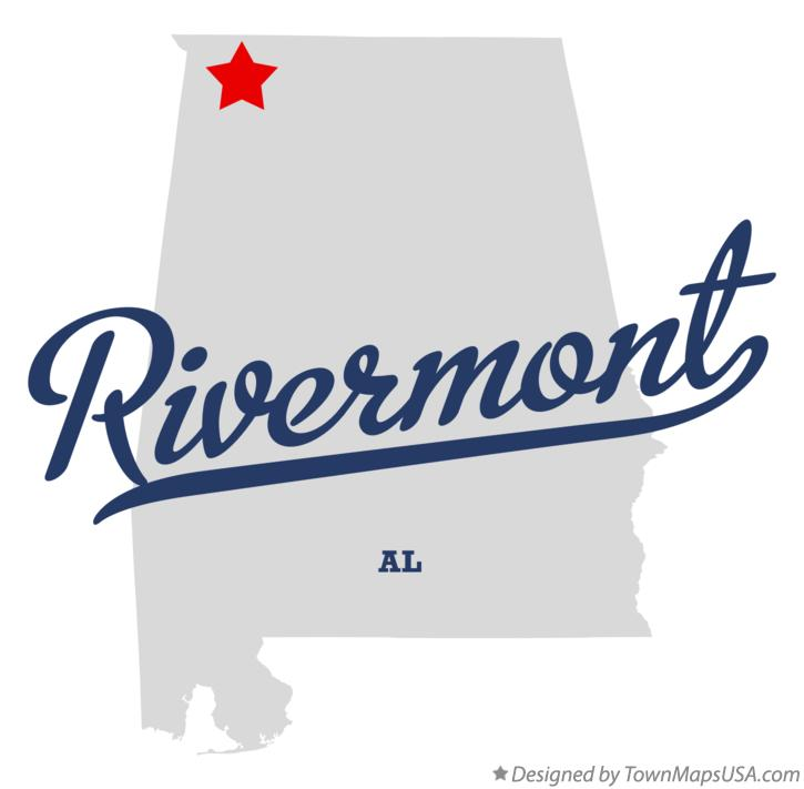 Map of Rivermont Alabama AL