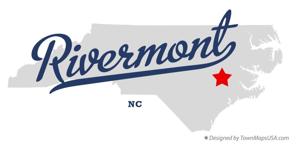Map of Rivermont North Carolina NC
