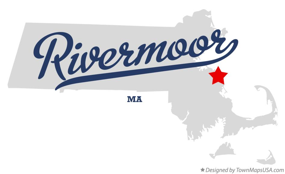 Map of Rivermoor Massachusetts MA