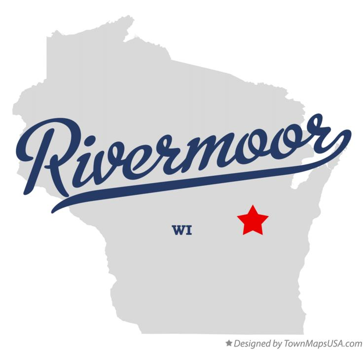 Map of Rivermoor Wisconsin WI