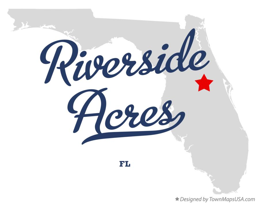 Map of Riverside Acres Florida FL