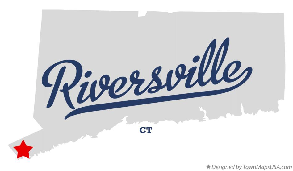 Map of Riversville Connecticut CT