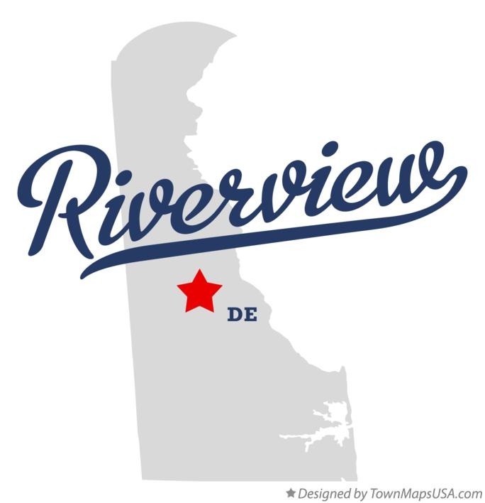 Map of Riverview Delaware DE