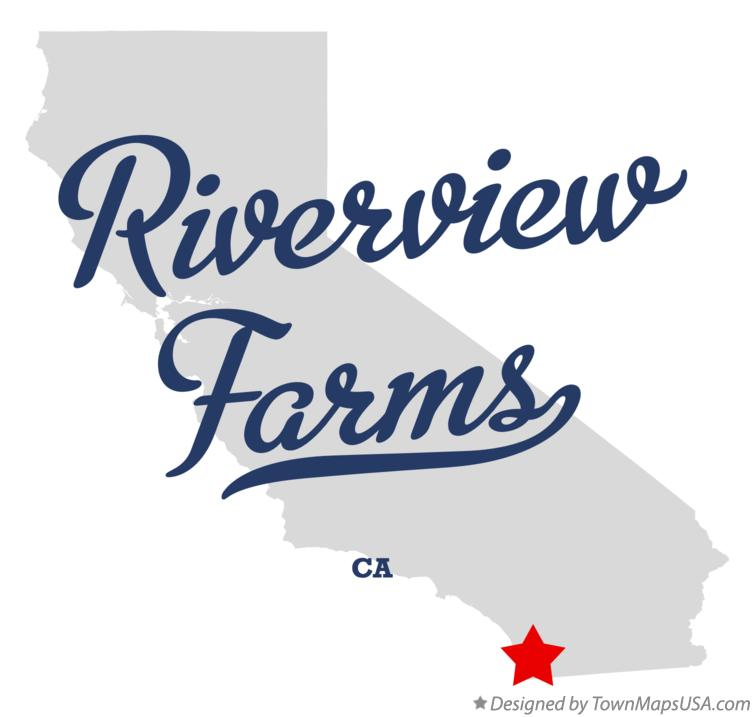 Map of Riverview Farms California CA
