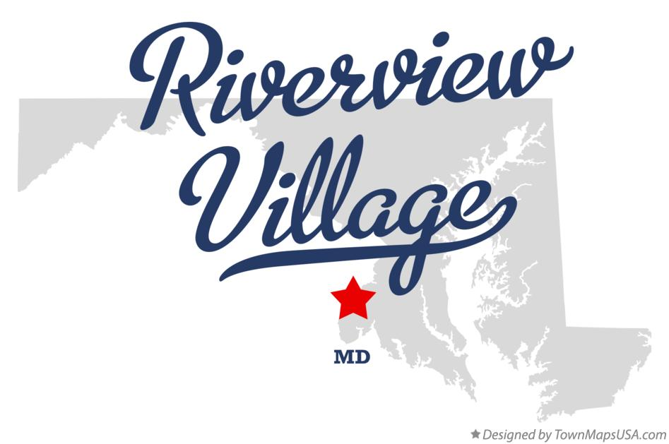 Map of Riverview Village Maryland MD