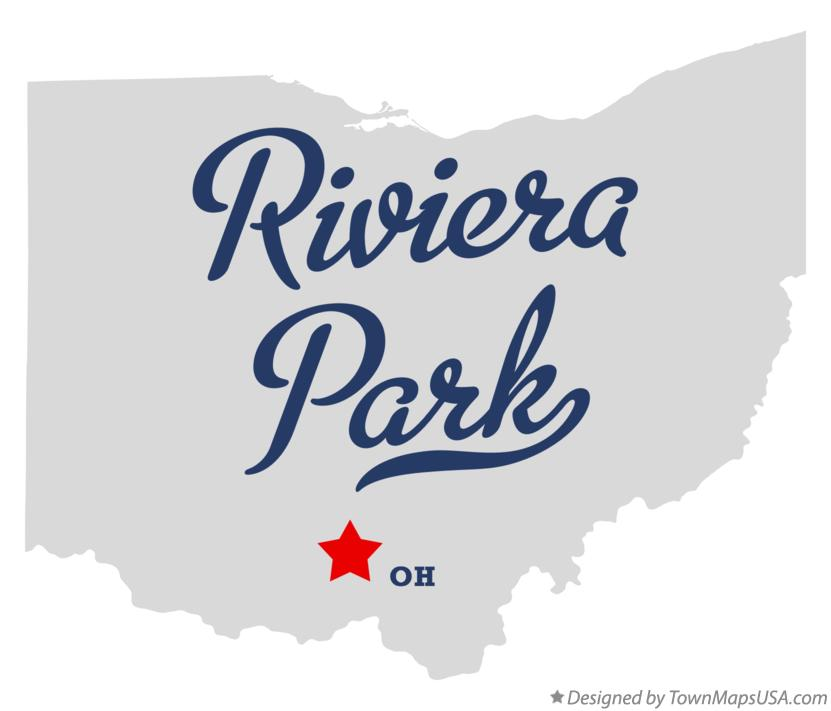 Map of Riviera Park Ohio OH