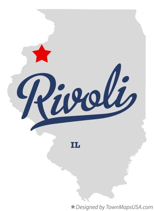 Map of Rivoli Illinois IL