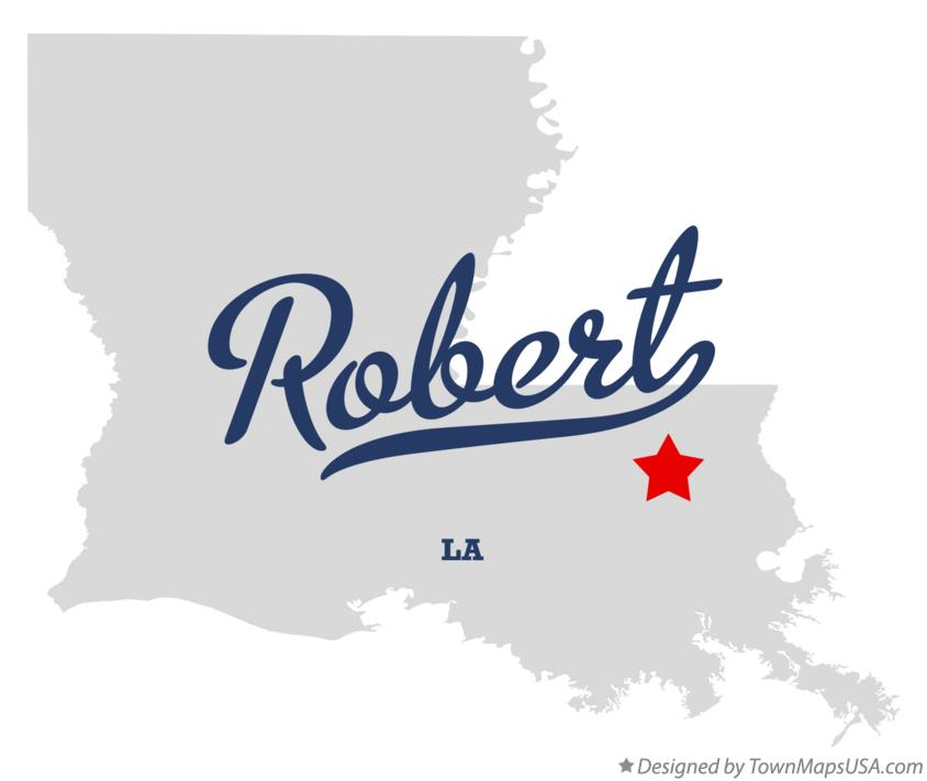 Map of Robert Louisiana LA