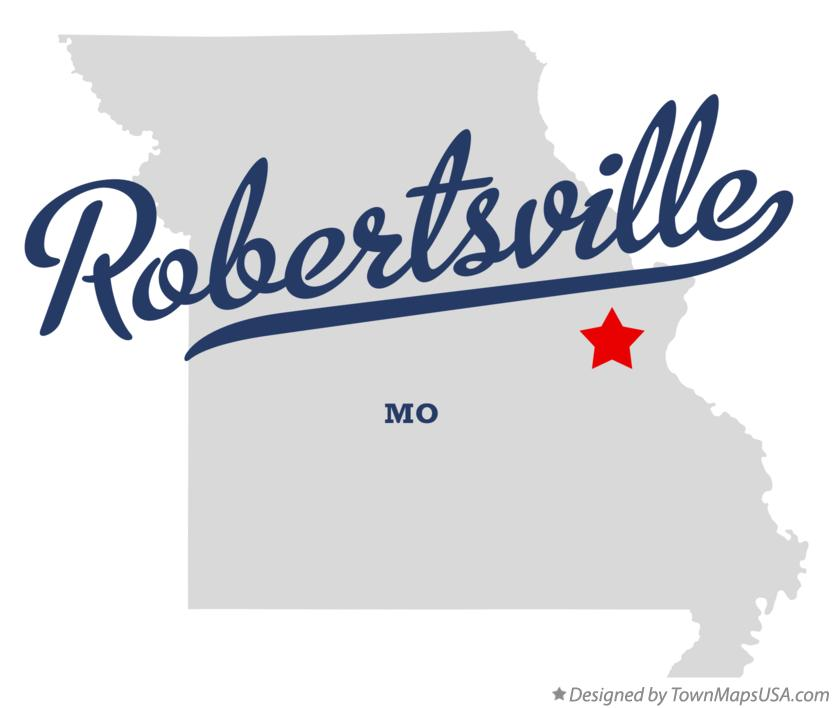 Map of Robertsville Missouri MO