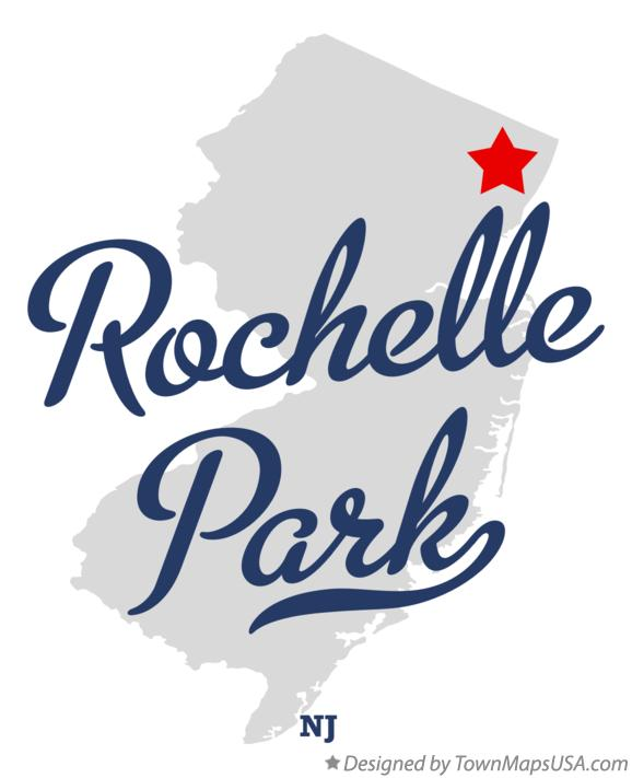 Map of Rochelle Park New Jersey NJ