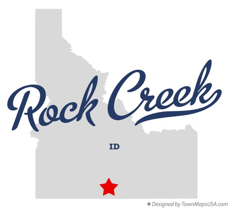 Map of Rock Creek Idaho ID