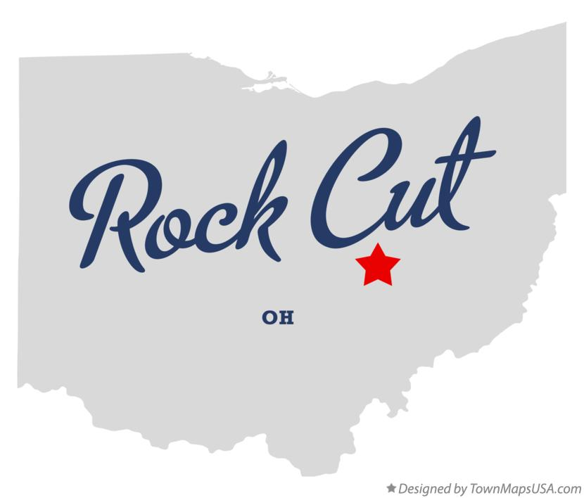 Map of Rock Cut Ohio OH