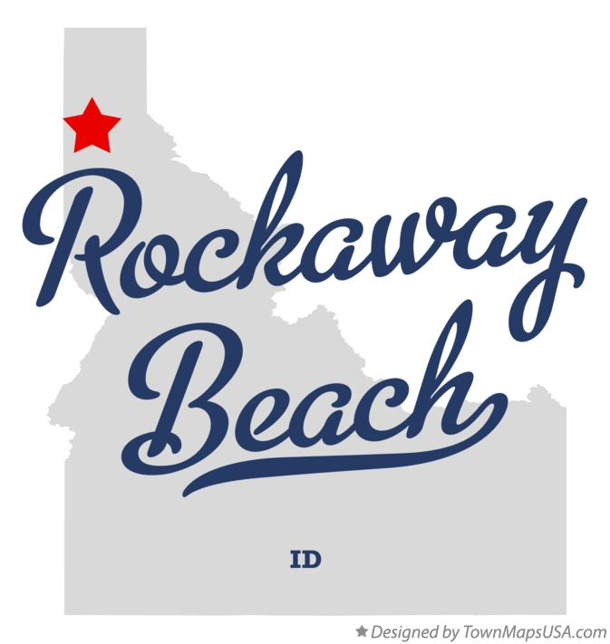 Map of Rockaway Beach Idaho ID