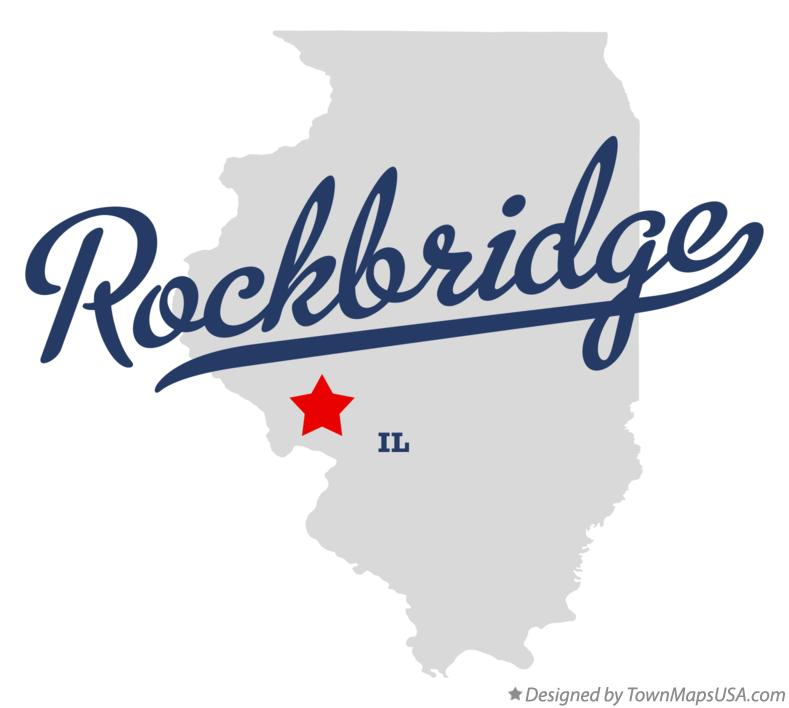 Map of Rockbridge Illinois IL