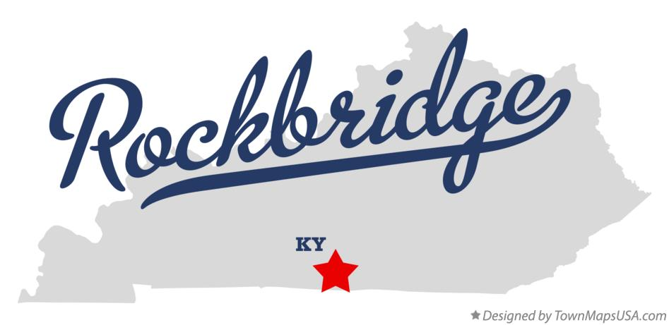Map of Rockbridge Kentucky KY