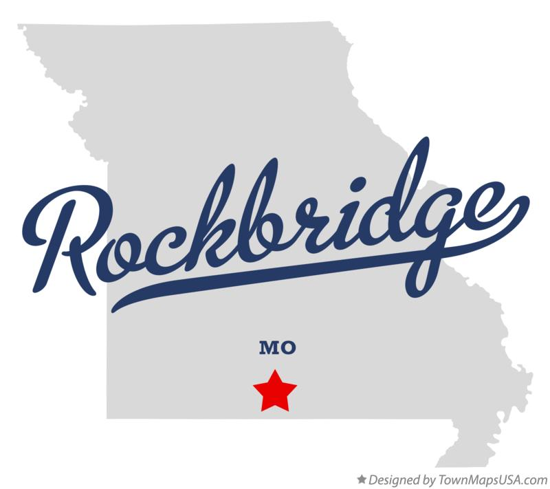 Map of Rockbridge Missouri MO