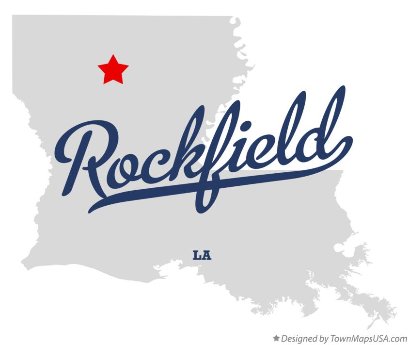 Map of Rockfield Louisiana LA