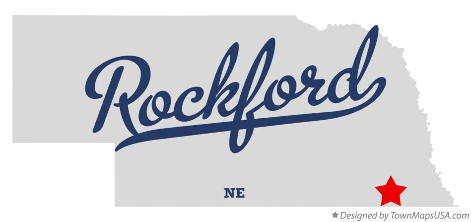 Map of Rockford Nebraska NE