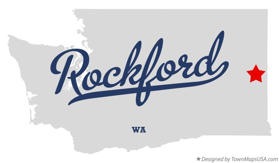 Map of Rockford Washington WA