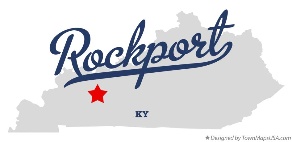 Map of Rockport Kentucky KY