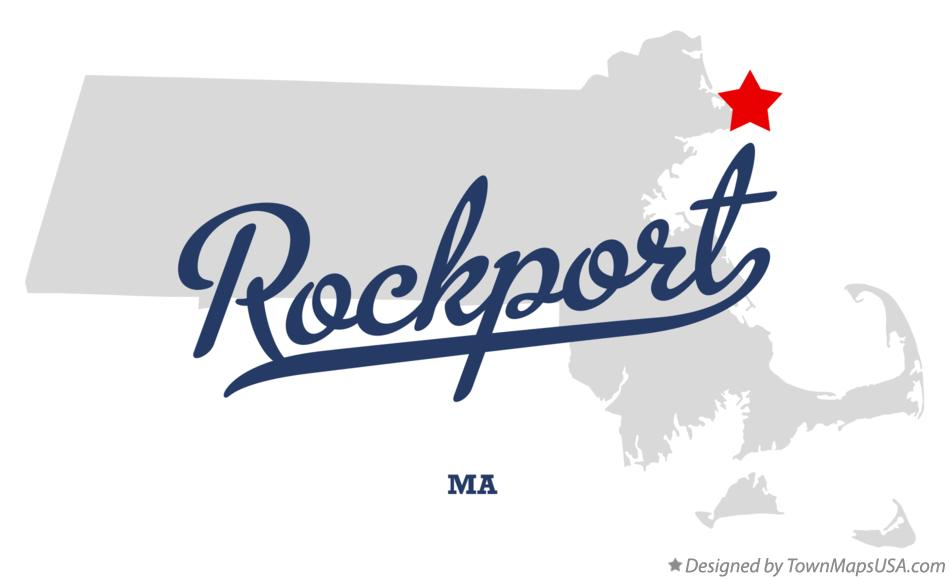 Map of Rockport Massachusetts MA