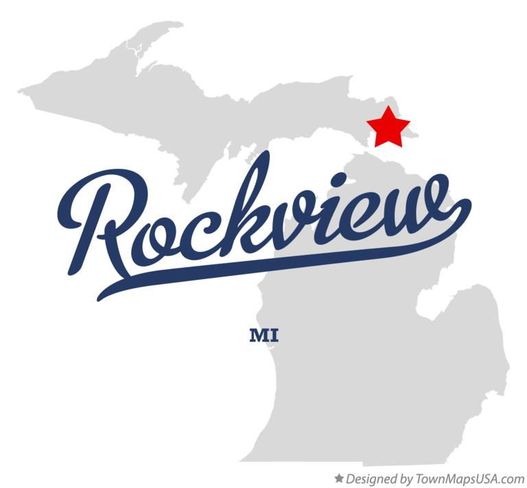 Map of Rockview Michigan MI