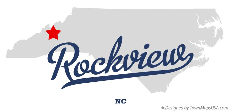 Map of Rockview North Carolina NC