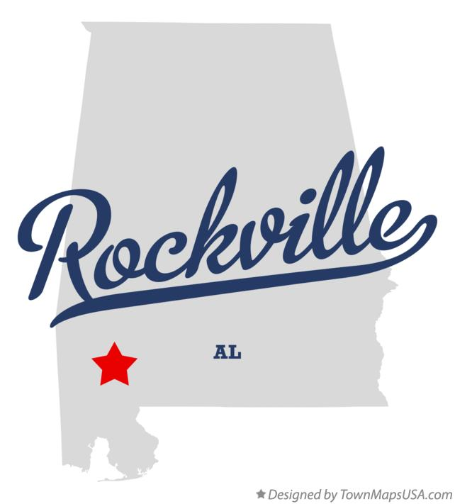 Map of Rockville Alabama AL