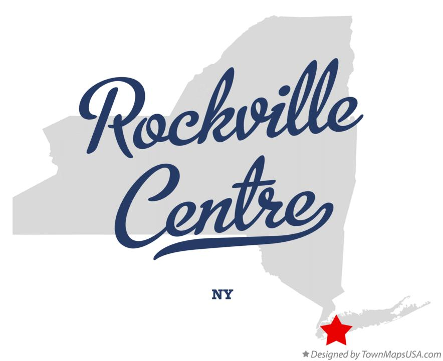 Map of Rockville Centre New York NY