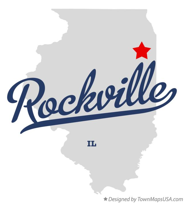 Map of Rockville Illinois IL