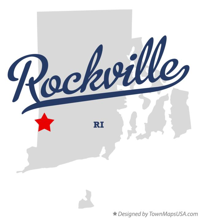 Map of Rockville Rhode Island RI