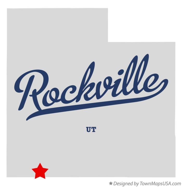 Map of Rockville Utah UT
