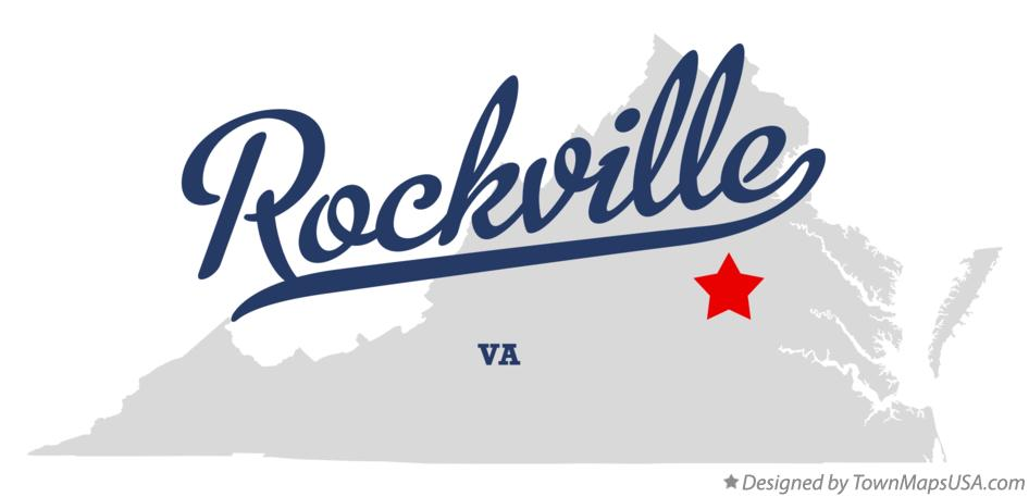 Map of Rockville Virginia VA
